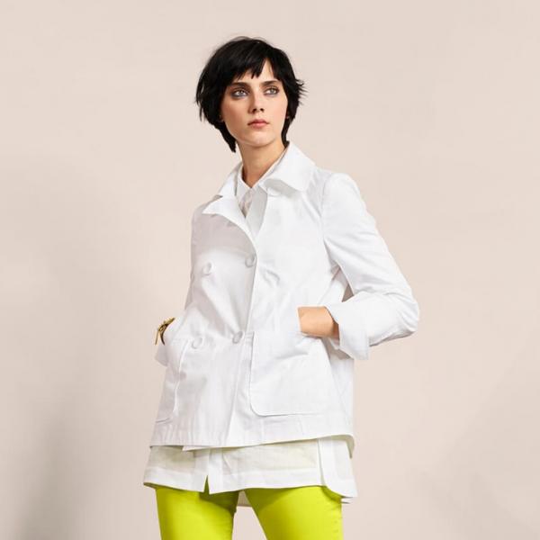 Luisa Cerano White Jacket